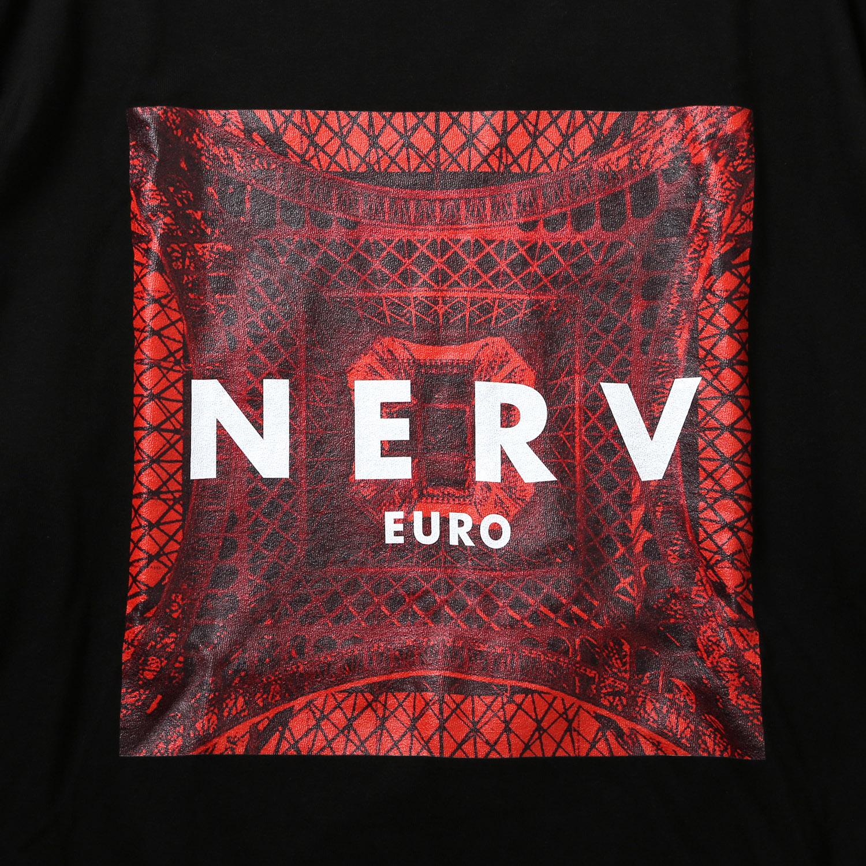 EURO NERV BOX LOGO Cutsew (ブラック)