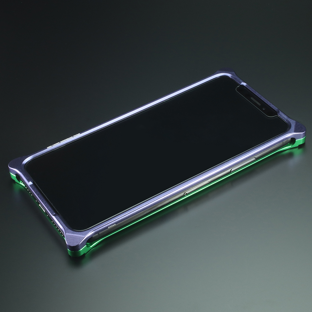 Solid Bumper for iPhone11 (EVANGELION Limited) (Purple×Green(初号機))