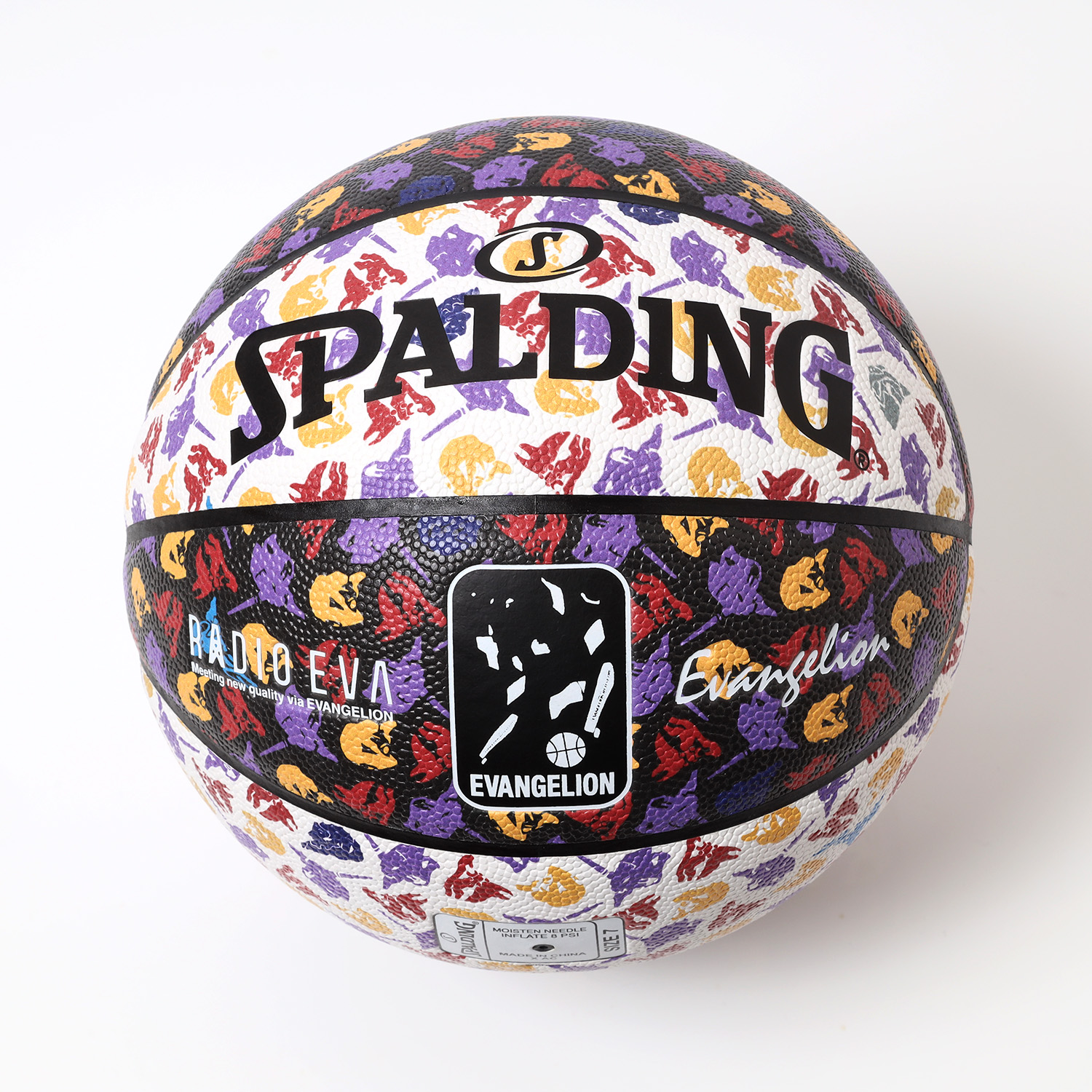 RADIO EVA Basketball by SPALDING (RADIO EVA MONOGRAM)