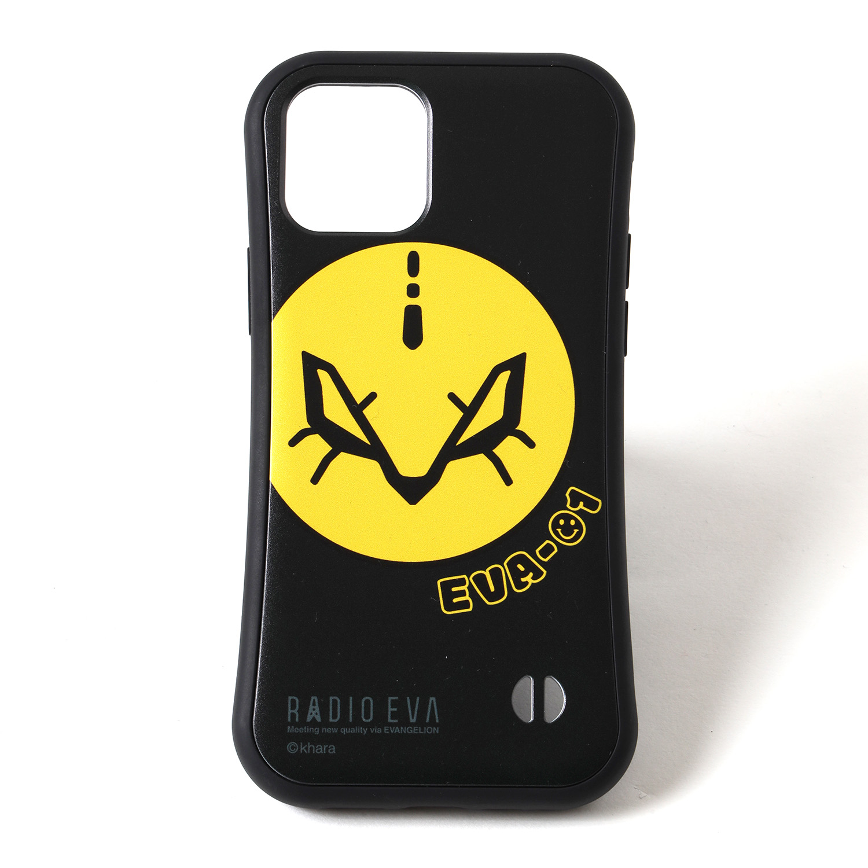 RADIO EVA ORIGINAL MOBILE CASE by EVA-01 FACE(BLACK)