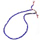EVANGELION Hemp Code & Beads Bracelet/Necklace (VIVIFY) (ブルー(シンジ))