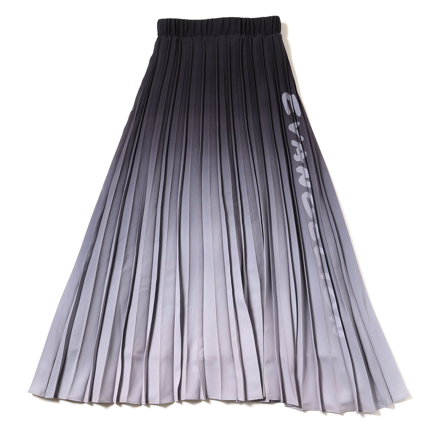 Gradation Pleated Skirt (ブラック)