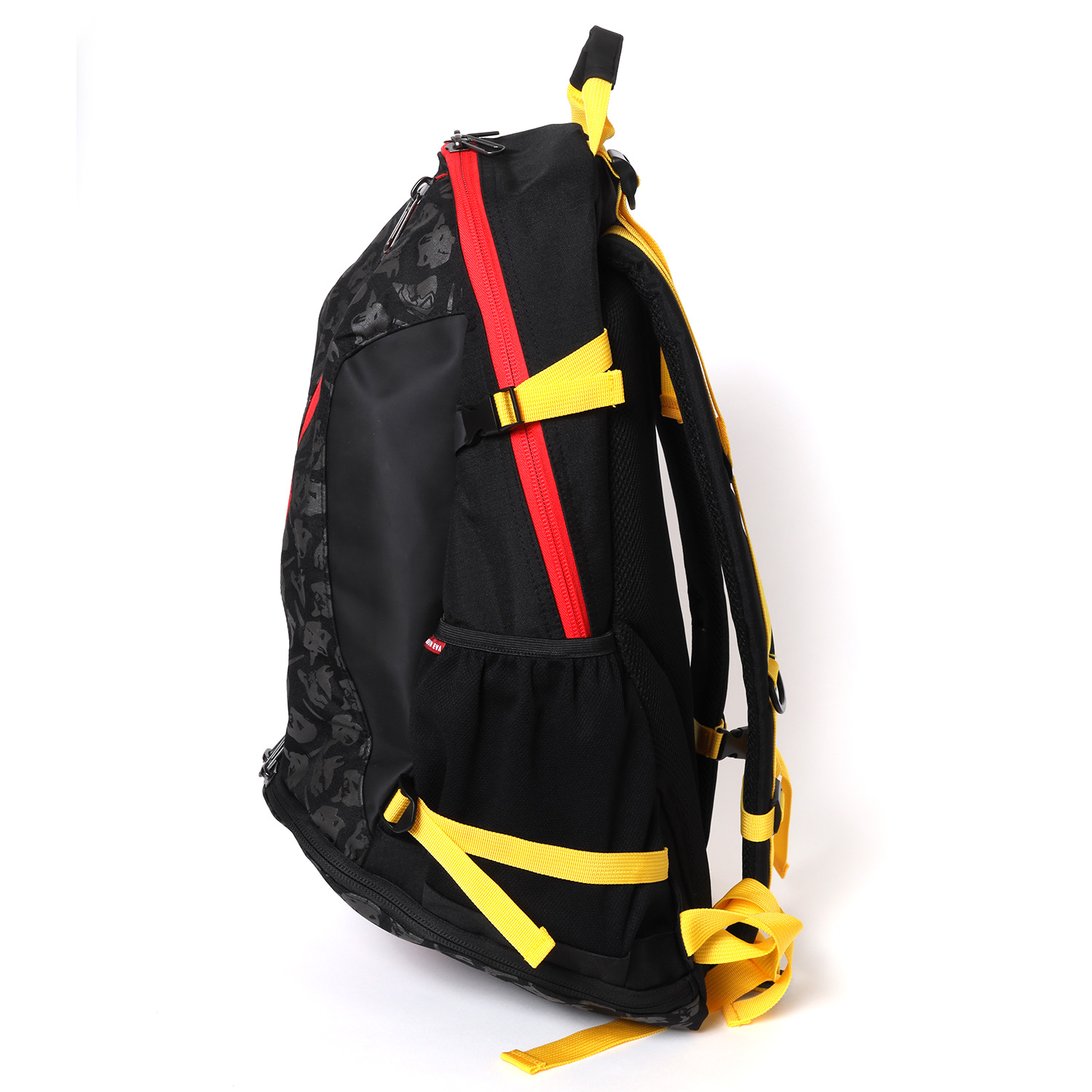 EVA-01 Cager Backpack by SPALDING (Black x Red)
