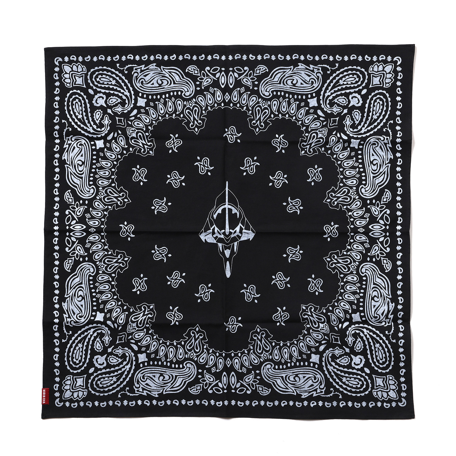 EVA-01 PAISLEYS BANDANA (BLACK)