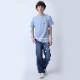波打際 T-Shirt β (BLUE)