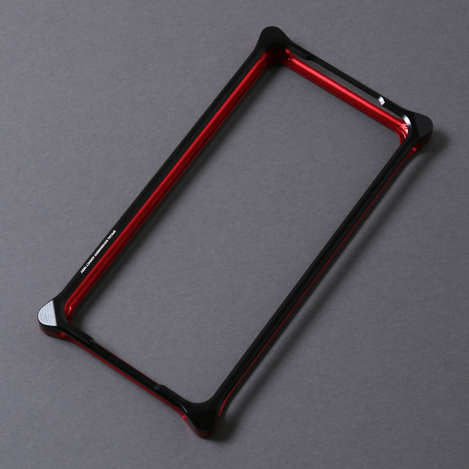 Solid Bumper for iPhone11 (RADIO EVA Limited) (Black×Red(NERV))