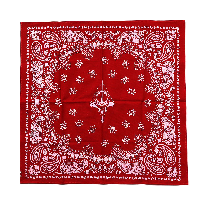 EVA-01 PAISLEYS BANDANA (RED)