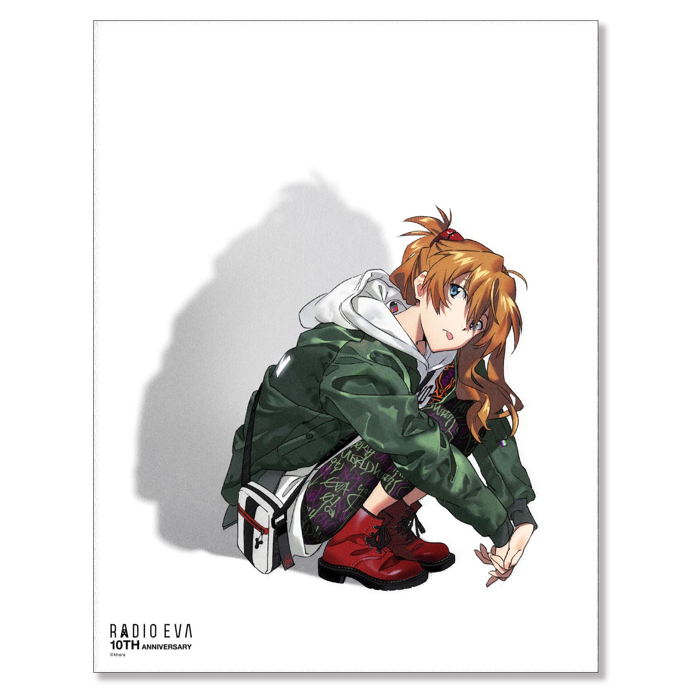 EVA Canvas Art (illustration) (アスカ(RADIO EVA 10TH : 2nd))