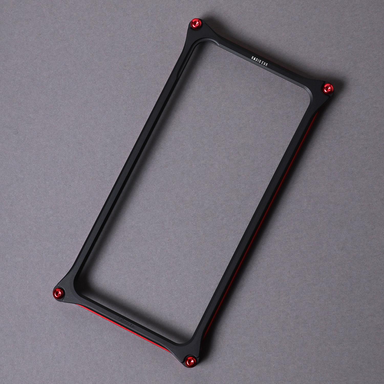 Solid Bumper for iPhone11 (RADIO EVA Limited) (Red×Black(NERV))
