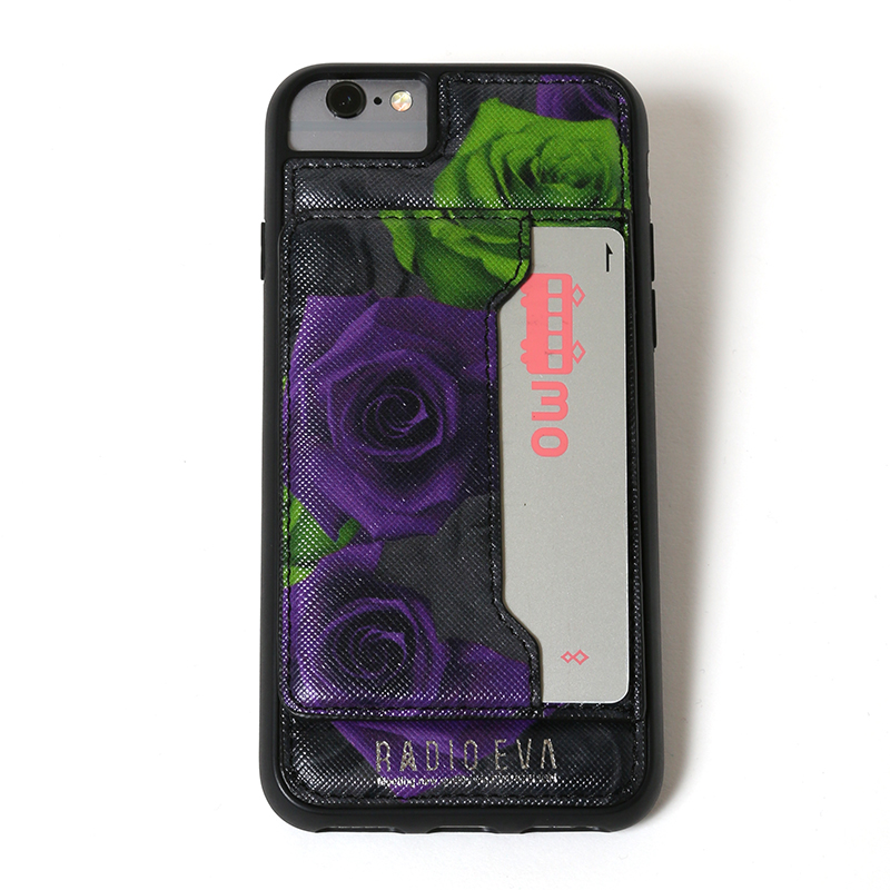 Card Holder iPhone Case (薔薇)