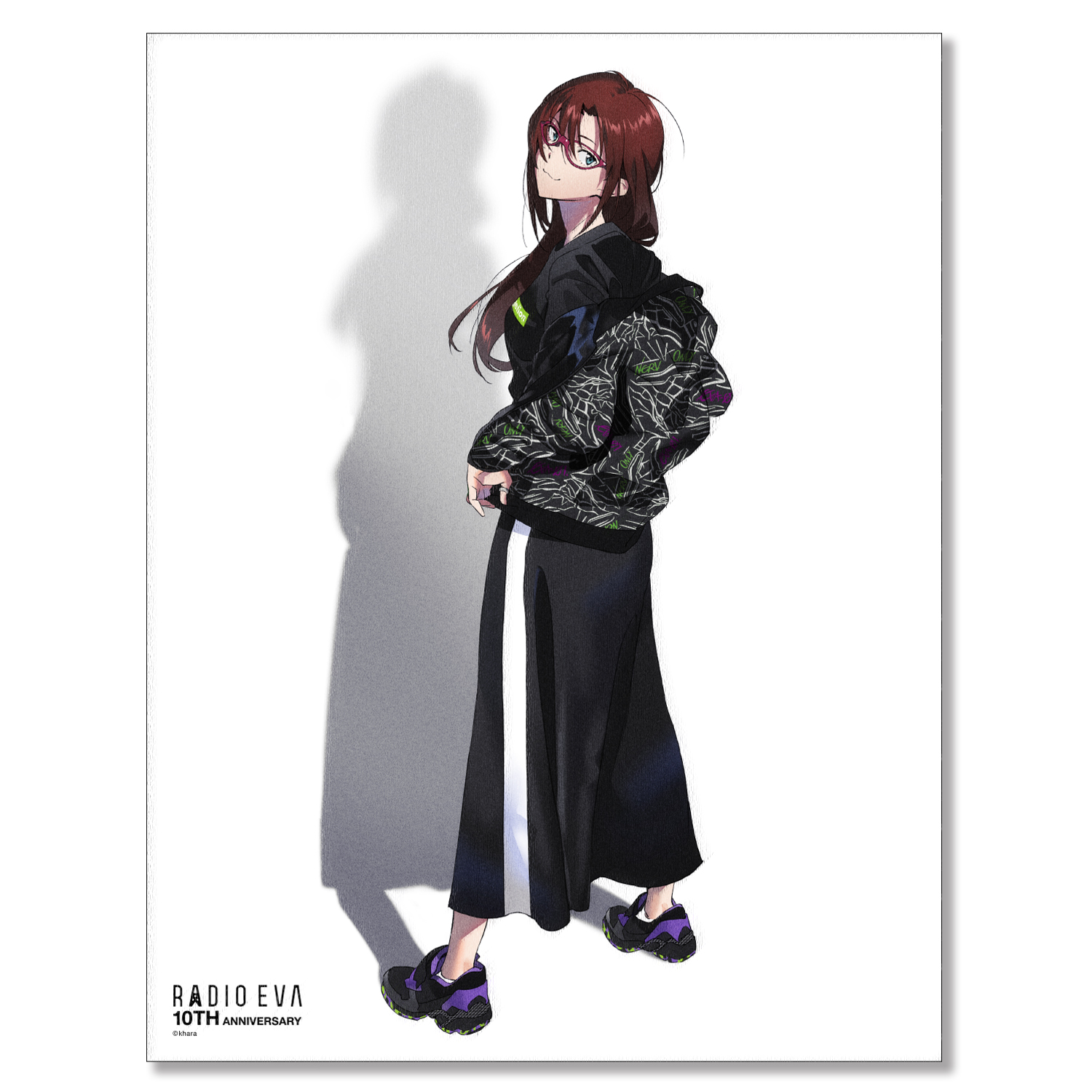 EVA Canvas Art (illustration) (マリ(RADIO EVA 10TH : 2nd))