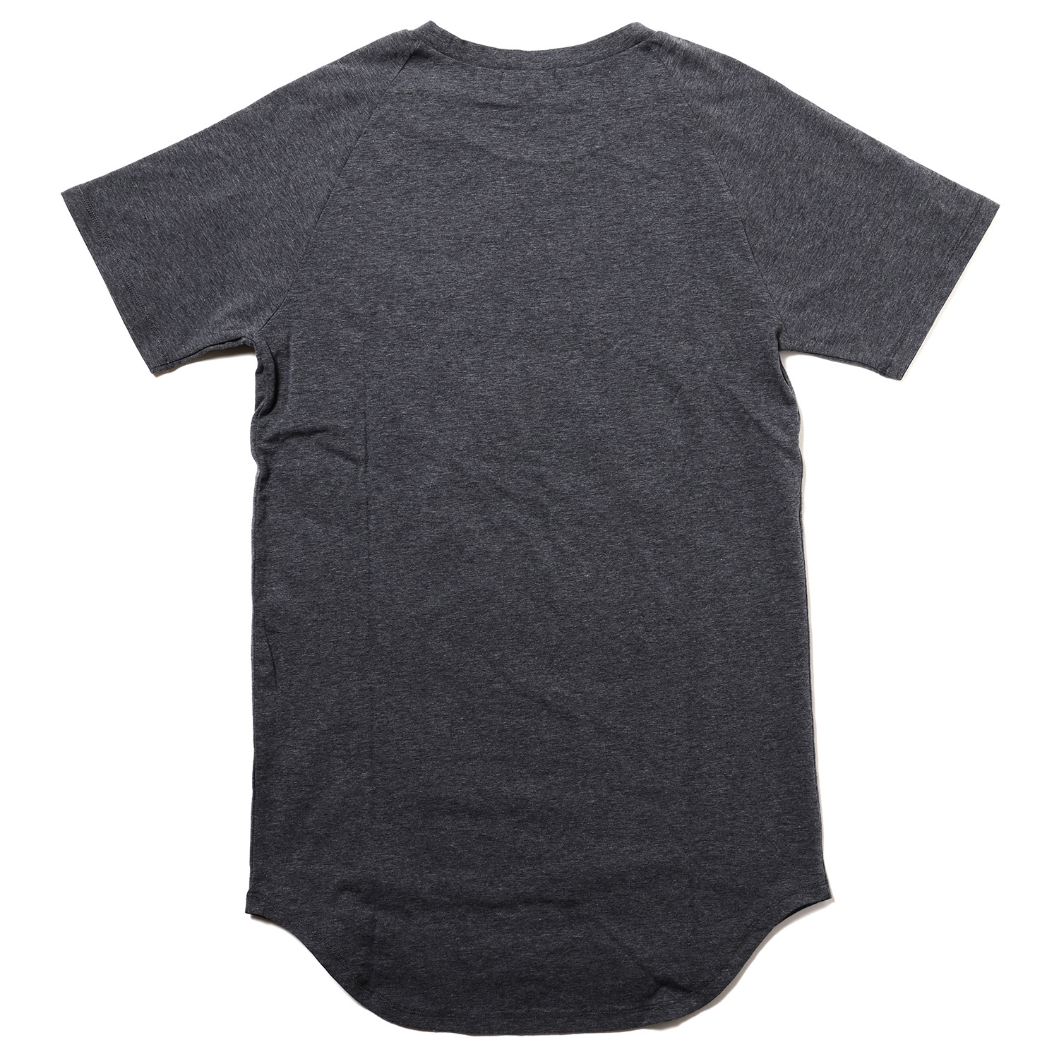 EVANGELION RAGLAN SLEEVE LINE T-Shirt (GRAY(Mark.09))