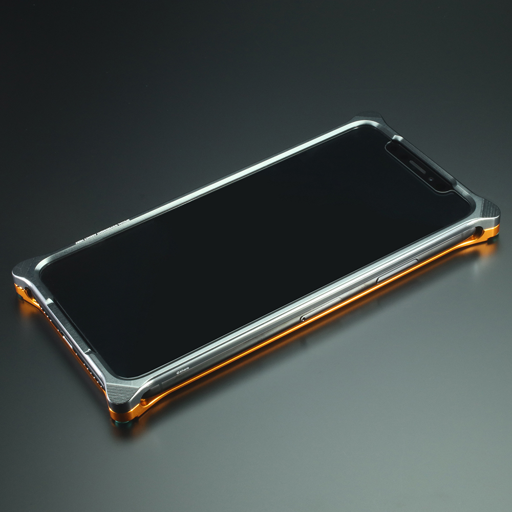 Solid Bumper for iPhoneX (EVANGELION Limited) (EVANGELION PROTO TYPE-00 MODEL)