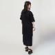 NERV Box and Lettering Dress (BLACK)