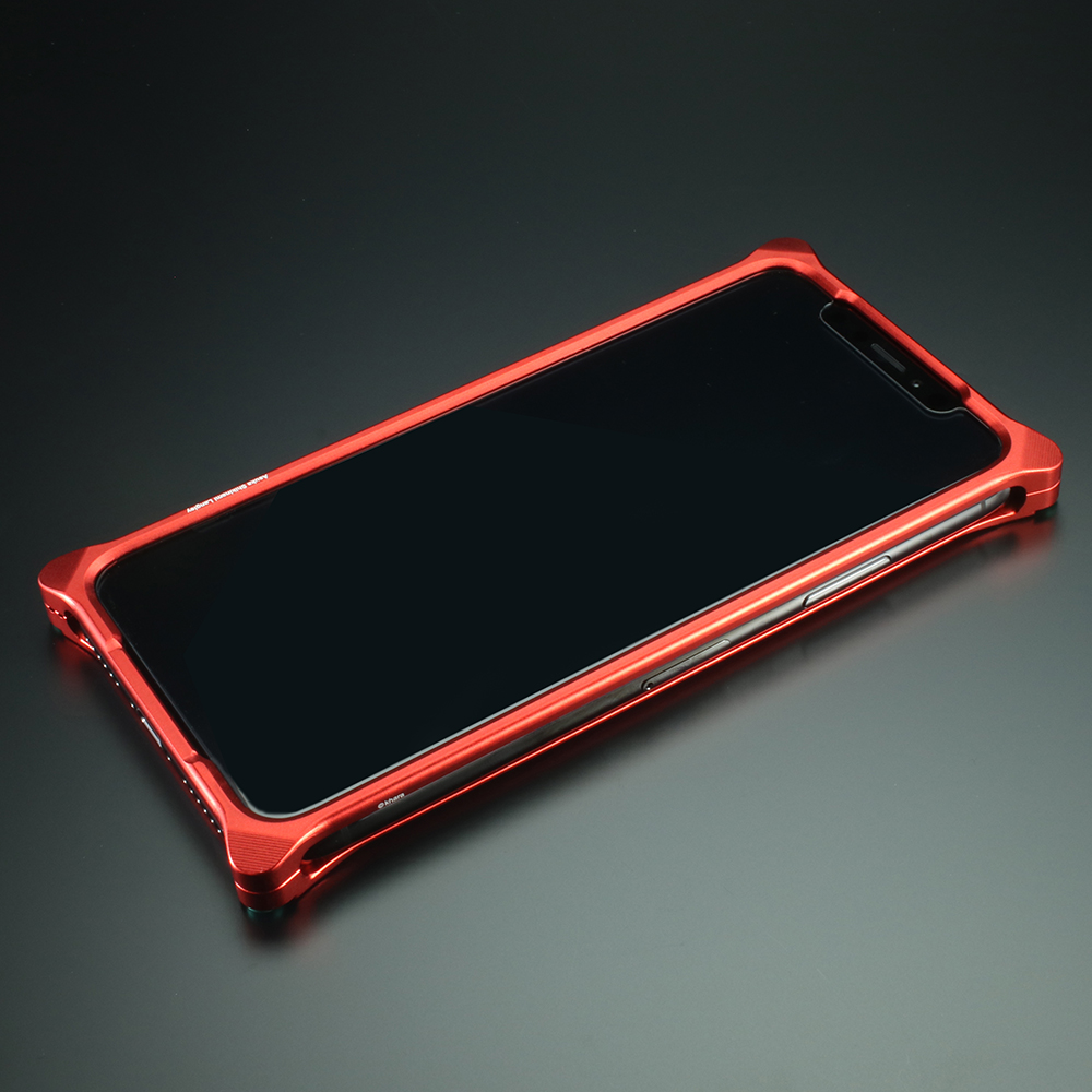 Solid Bumper for iPhoneX (RADIO EVA Limited) (Matte RED(式波・アスカ・ラングレー))