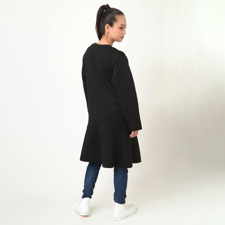 CAN(NOT) No Collar Coat (ブラック)
