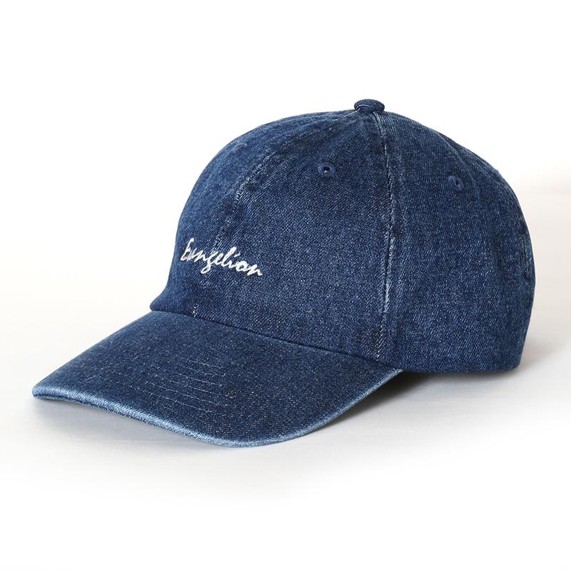 EVANGELION Denim Washed Cap (インディゴ)