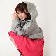 EVANGELION Dolman Sleeve Parka by StyleBoatMarket (グレー)