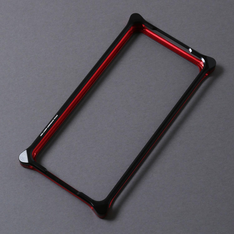 Solid Bumper for iPhone11pro (RADIO EVA Limited) (Black×Red(NERV))