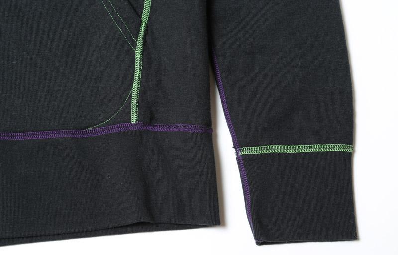 LOOPWHEEL TEST TYPE-01 PARKA (ブラック)