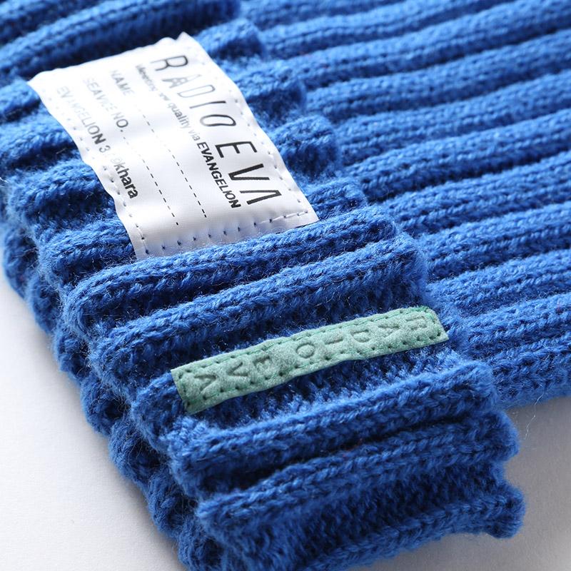 EVA Rib Knit Cap (ブルー)
