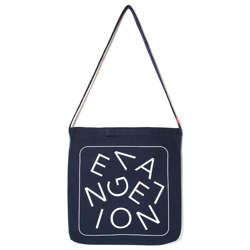 NEW EVANGELION Tote Bag (ネイビー)