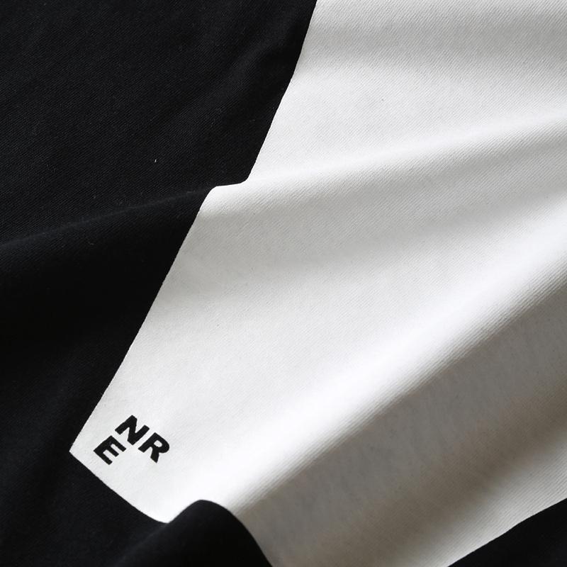 NERV Letter T-Shirt V(ブラック)