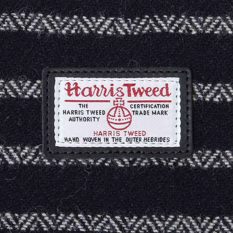 EVA × Harris Tweed Shoulder Bag (ネイビー)