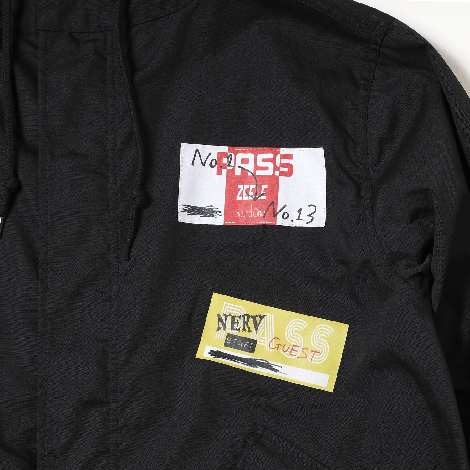 Back Stage Pass Mods Coat (ブラック)