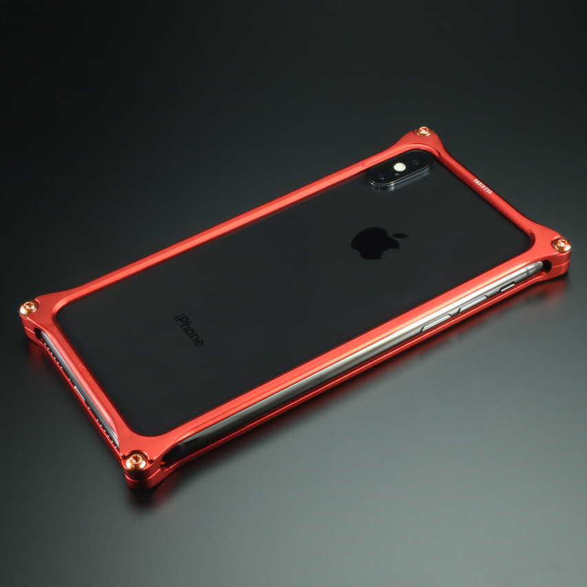 Solid Bumper for iPhone11pro (RADIO EVA Limited) (Matte RED(式波・アスカ・ラングレー))