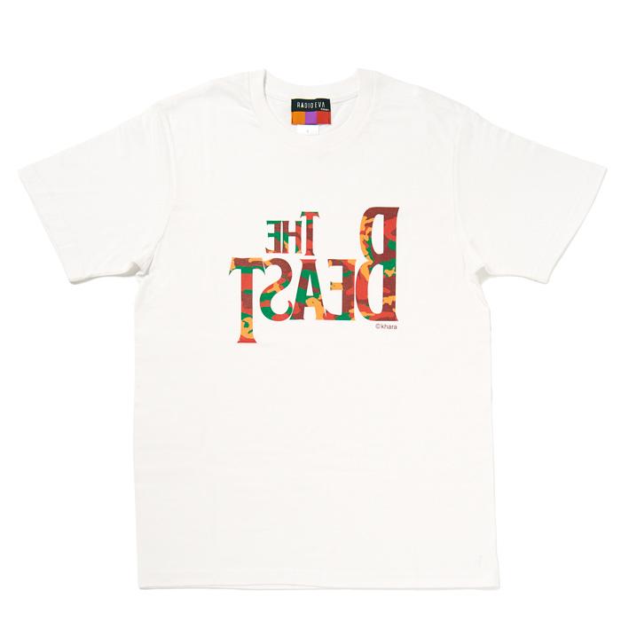 THE BEAST T-Shirt (EVA-02(WHITE))
