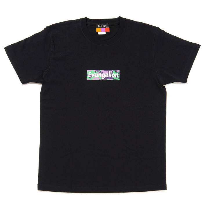 EVANGELION BOX LOGO T-Shirt (EVA-01(BLACK))