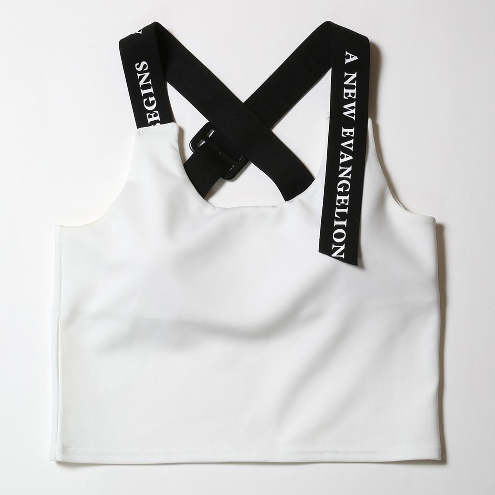 EVANGELION Camisole by StyleBoatMarket (ホワイト)