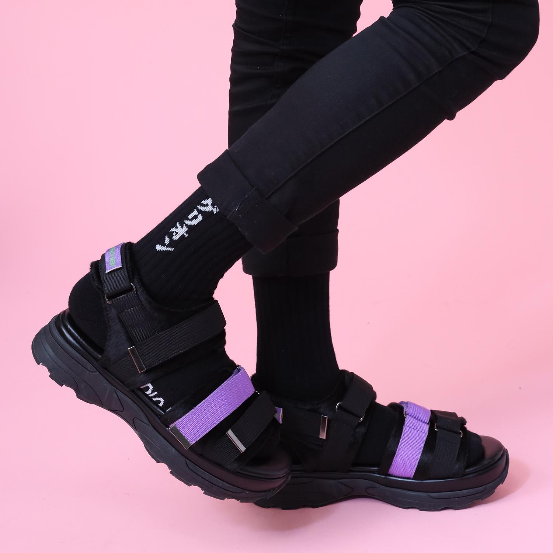 EVANGELION SOCKS (BLACK)