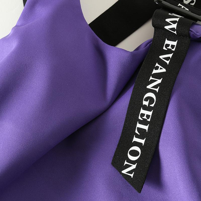 EVANGELION Camisole by StyleBoatMarket (パープル)