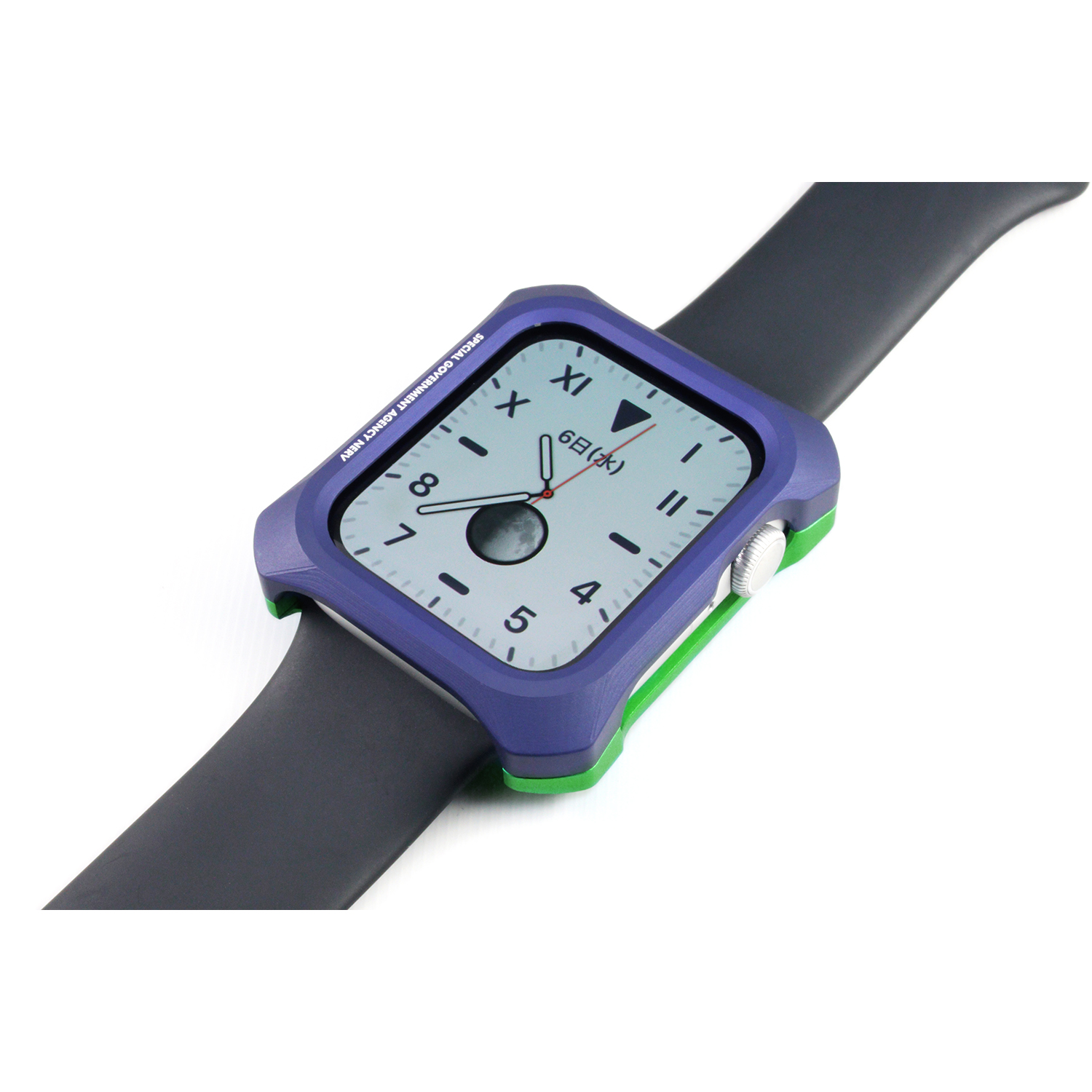 Solid bumper for Apple Watch (EVANGELION Limited) (Purple×Green(初号機))