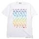 Longinus Art T-Shirt (WHITE×RAINBOW)