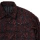 EVANGELION XIII QUILTING FLANNEL CHECK SHIRTS JKT (RED CHECK)