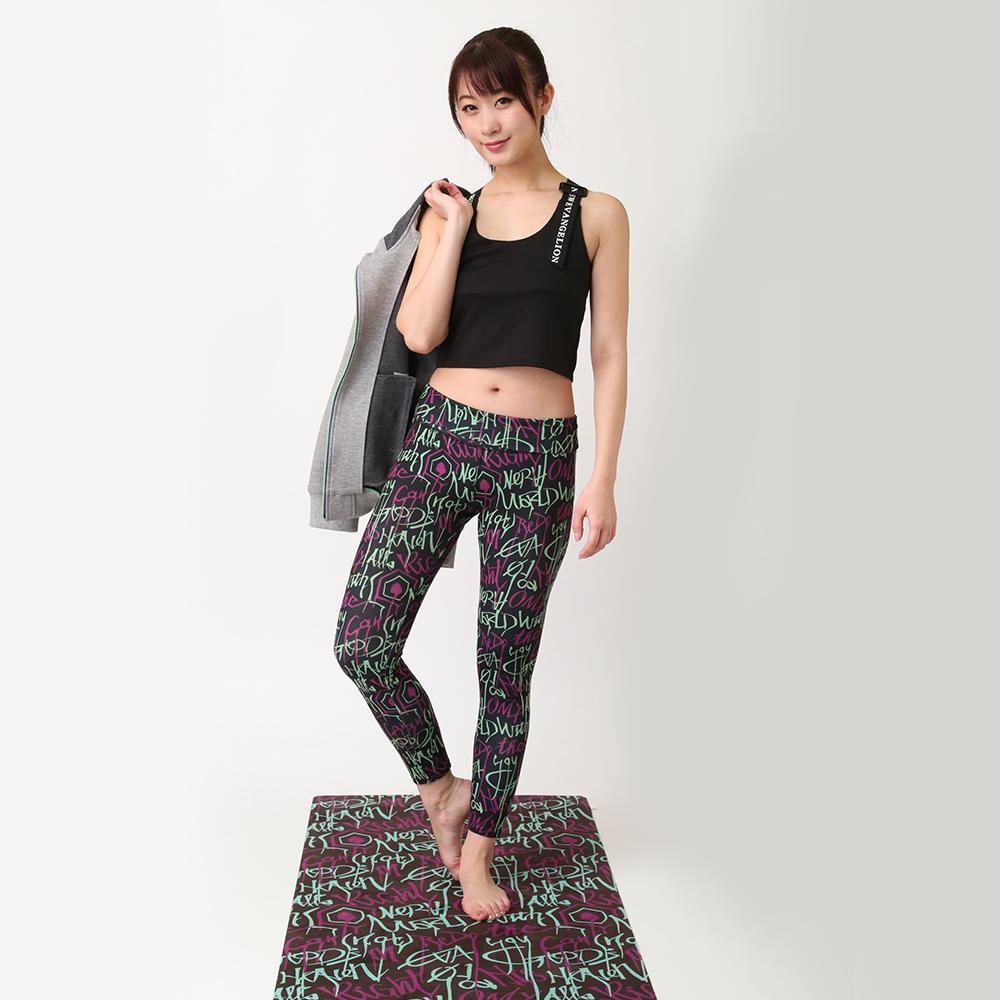 EVANGELION Yoga Mat by StyleBoatMarket (フォント柄)