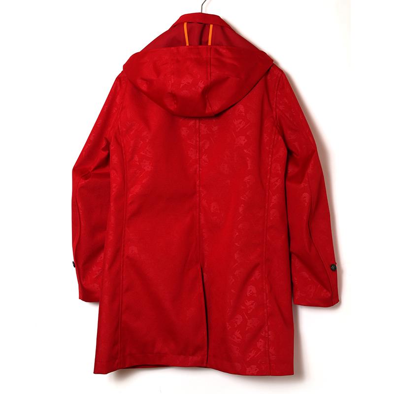 EVANGELION CORDURA Stand Fall Collar Coat (レッド(アスカ))