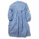 Longinus Embroidery Dress (DENIM)