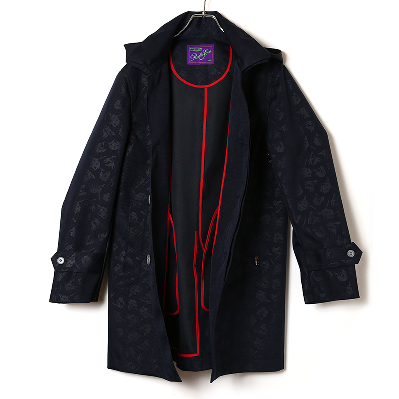 EVANGELION CORDURA Stand Fall Collar Coat (ネイビー(カヲル))