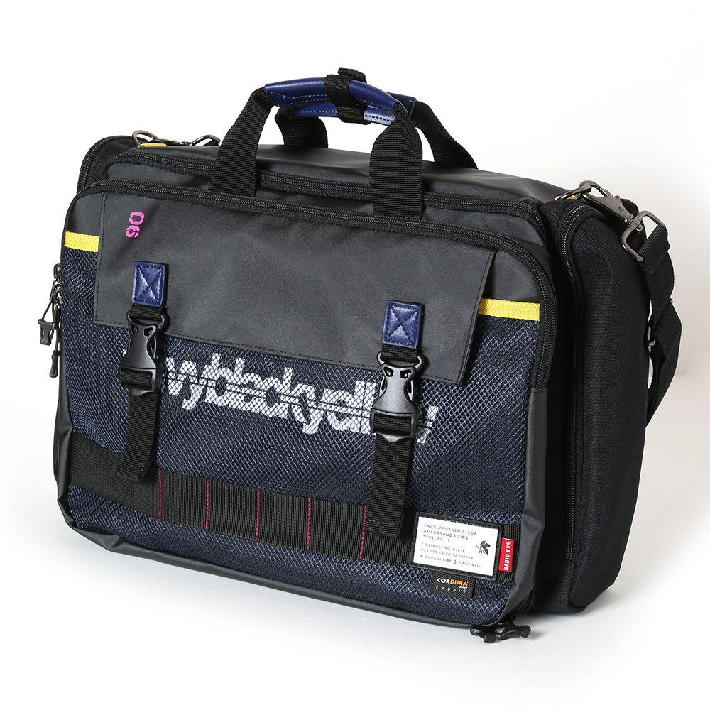 EVANGELION 3WAY BRIEF CASE by FIRE FIRST (Mark.06 MODEL)