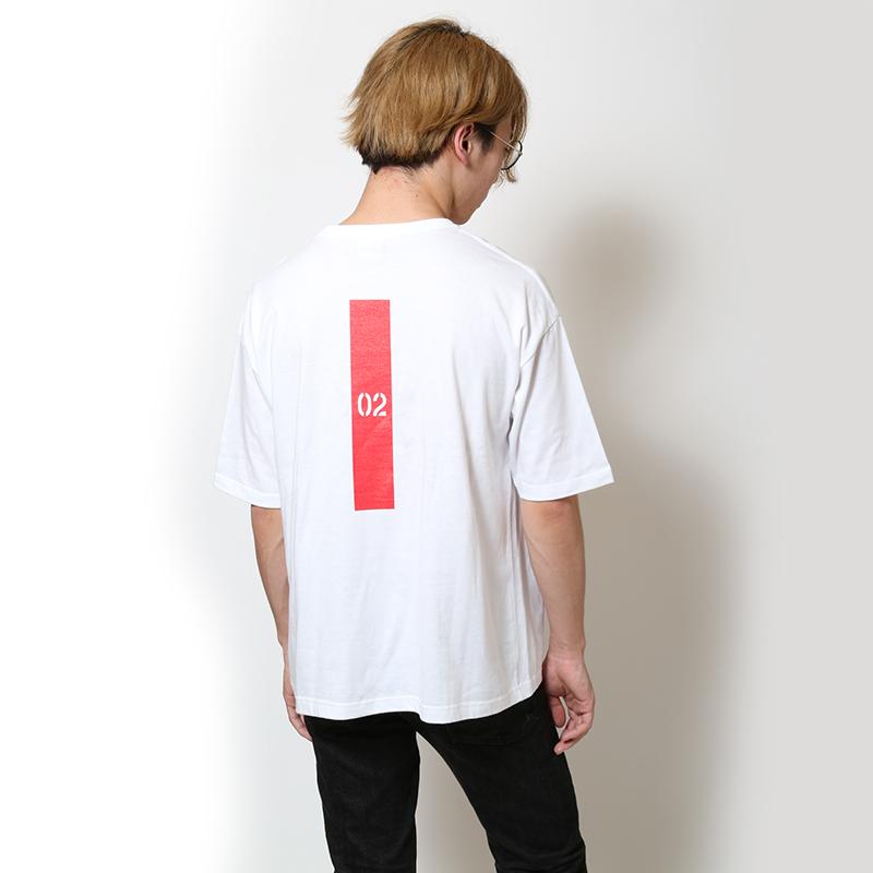 EVANGELION New Numbering Pocket T-Shirt (ホワイト(02))