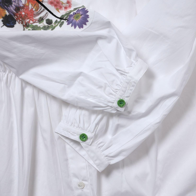 Longinus Embroidery Dress (WHITE)