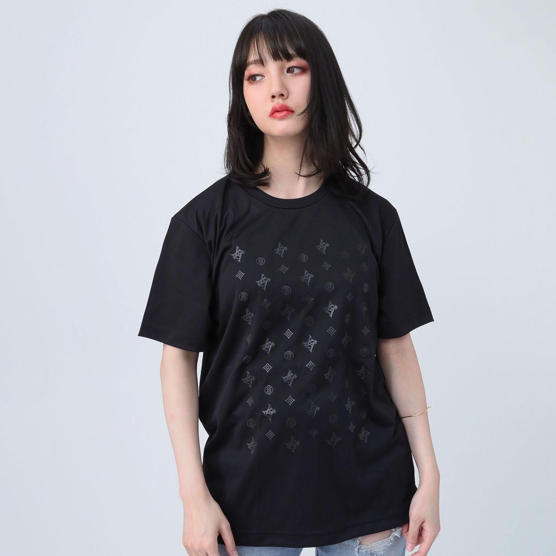EVA Monogram T-Shirt (BLACK)