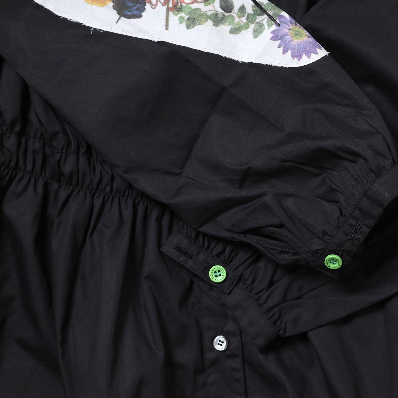 Longinus Embroidery Dress (BLACK)