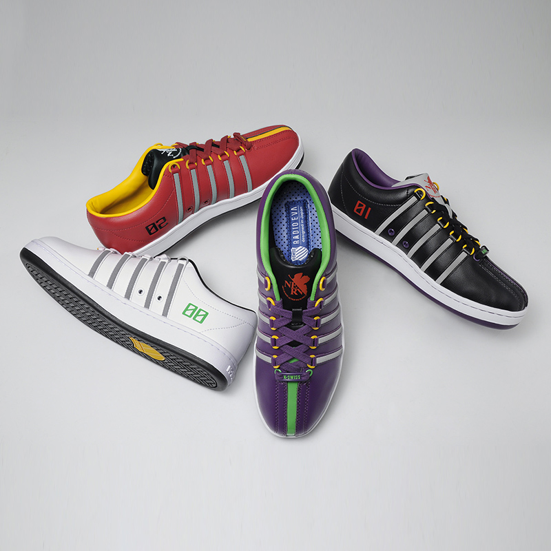 K・SWISS THE CLASSIC (EVANGELION Limited)  (Production 02 [レッド])