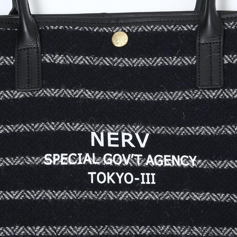 EVA × Harris Tweed Tote Bag (ネイビー)