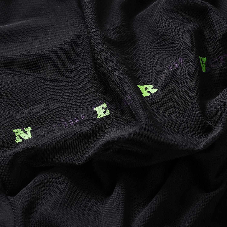 NERV Layered Long T-Shirt (BLACK)